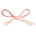 MOONIE'S FIRST STEP LACES - CANDY PINK