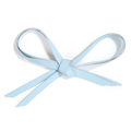 MOONIE'S FIRST STEP LACES - CLOUDY BLUE