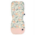 ORGANIC JERSEY COLLECTION - STROLLER PAD - BLOOMING BOUTIQUE - VELVET POWDER PINK