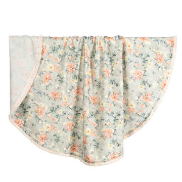BAMBOO ROUND SWADDLE - KING SIZE - BLOOMING BOUTIQUE
