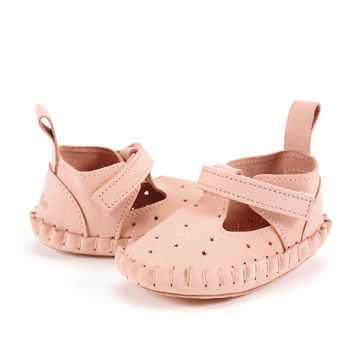 MOCCASIN MOONIE'S FIRST - CANDY PINK