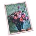 KOC, NARZUTA 140 x 200 cm - BY MARCIN TYSZKA - FLORES - SMOKE ROSE