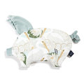 VELVET COLLECTION - PODUSIA SLEEPY PIG - HERON IN CREAM LOTUS - SMOKE MINT