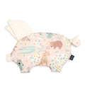 PODUSIA SLEEPY PIG - DUNDEE & FRIENDS PINK - ECRU