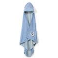 RĘCZNIK BAMBOO SOFT - NEWBORN - DUSTY BLUE - COLLEGE CAMP