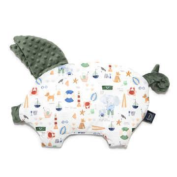 PODUSIA SLEEPY PIG - FRENCH RIVIERA BOY - KHAKI