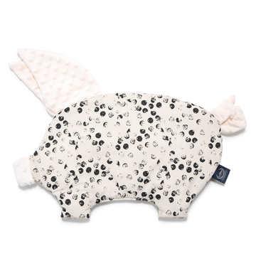 PODUSIA SLEEPY PIG - WILD DOTS - ECRU