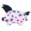 VELVET COLLECTION - PODUSIA SLEEPY PIG - CANDY PALMS - ROYAL NAVY