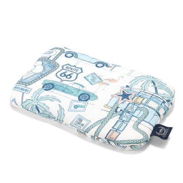 BABY BAMBOO PILLOW - ROUTE 66 COLOUR
