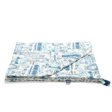 BAMBOO BEDDING KING SIZE - ROUTE 66 COLOUR