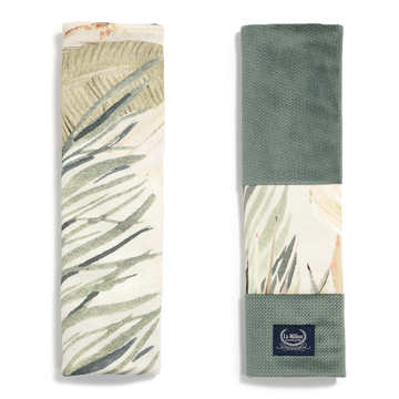 ORGANIC JERSEY COLLECTION - SEATBELT COVER - BOHO COCO - VELVET KHAKI