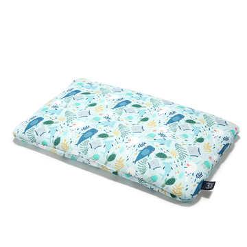 BAMBOO BED PILLOW - 40x60cm - DEEP BLUE