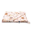 BAMBOO BEDDING KING SIZE - BY WHATANNAWEARS – FLY ME TO THE MOON NUDE
