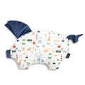 VELVET COLLECTION - PODUSIA SLEEPY PIG - FRENCH RIVIERA BOY - HARVARD BLUE