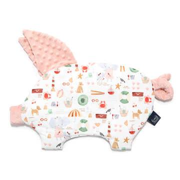 PODUSIA SLEEPY PIG - FRENCH RIVIERA GIRL - POWDER PINK