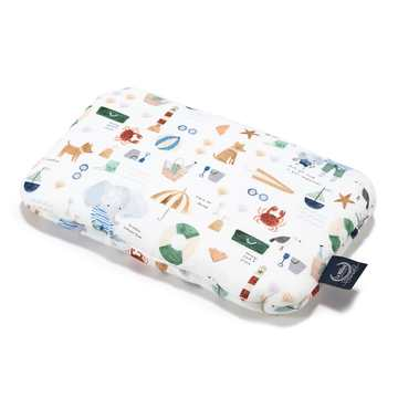 BABY BAMBOO PILLOW - FRENCH RIVIERA BOY