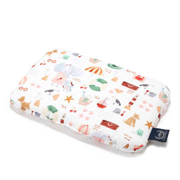 BABY BAMBOO PILLOW - FRENCH RIVIERA GIRL