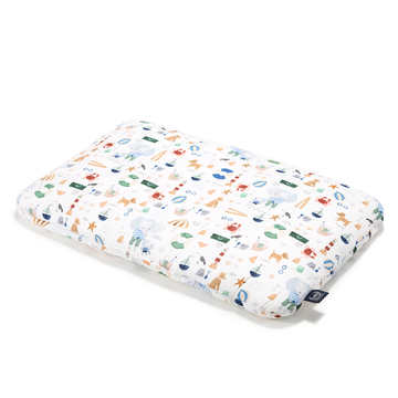 BAMBOO BED PILLOW - 40x60cm - FRENCH RIVIERA BOY