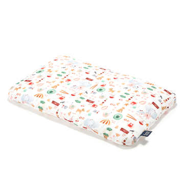 BAMBOO BED PILLOW - 40x60cm - FRENCH RIVIERA GIRL