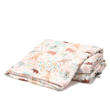 BAMBOO BEDDING ADULT - DUNDEE & FRIENDS PINK