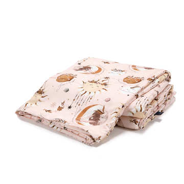 BAMBOO BEDDING ADULT - BY WHATANNAWEARS – FLY ME TO THE MOON NUDE