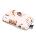BABY BAMBOO PILLOW - BY WHATANNAWEARS – FLY ME TO THE MOON NUDE