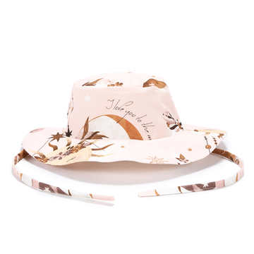 SAFARI HAT -BY WHATANNAWEARS – FLY ME TO THE MOON NUDE