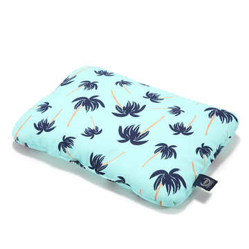 MID PILLOW - 30x40 - AQUA PALMS
