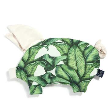 VELVET COLLECTION - PODUSIA SLEEPY PIG - BANANA LEAVES - RAFAELLO (Z DROBNĄ SKAZĄ)