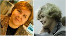 Prof. Bożena Kamińska-Kaczmarek and Prof. Małgorzata Kossut