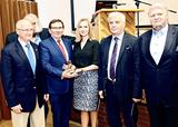 Dyrektorzy Biocentrum Ochota, od lewej: prof. Jacek Kuźnicki, prof. Piotr Zielenkiewicz, Porf. Adam Liebert, Prof. Agnieszka Dobrzyń, Prof. Tadeusz Burczyński, Prof. Andrzej Ziemba