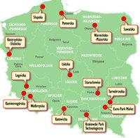 Sonderwirtschaftszonen in Polen