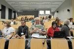 Na konferencji można było zapoznać się z różnymi materiałami informacyjno-edukacyjnymi wydawanymi przez Towarzystwo.