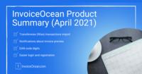 InvoiceOcean product update (April 2021)