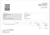 invoice template for proforma