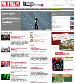 Portal Tygodnika Polityka