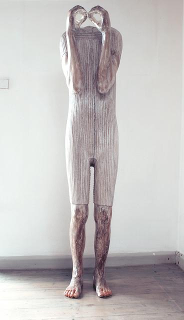 watchman 2016 drewno,białe złoto 180x40x30cm