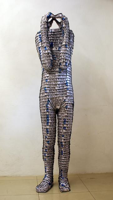 watchmans 2017, 190x40x30cm ,aluminium