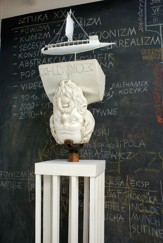 Taczcy Sokrates detal