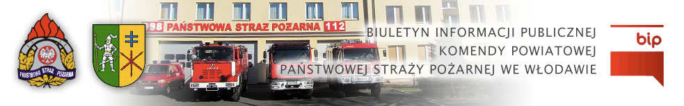 BIP Komendy Powiatowej Państwowej Straży Pożarnej we Włodawie