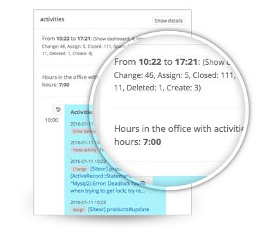 Generate timesheets