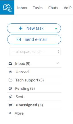 Single inbox