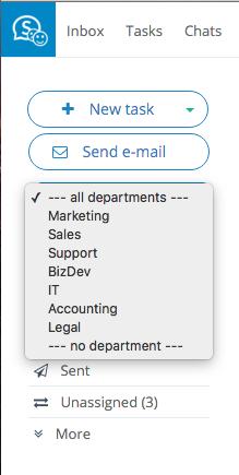 Multiple departments