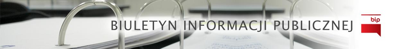 Baner Biuletyn Informacji Publicznej Urzędu Gminy Szczutowo