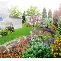 Palenisko w ogrodzie