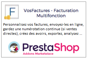 Facturation Marketplace Intégration Module Prestashop