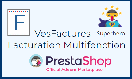 Facturation Marketplace Prestashop Superhero