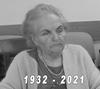 Czarno-białe zdjęcie pani Marii Kłoś z napisem 1932-2021
