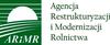 "Logo ARiMR z napisem ""Agencja Restrukturyzacji i Modernizacji Rolnictwa"""