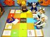 """Gra planszowa """"Domowe zwierzątka"""" wykonana przez dzieci z Oddziału przedszkolnego z ZO w Wiśniewie. Fot. ZO Wiśniew."""